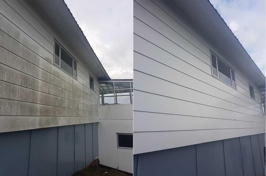 روش های شستشوی نمای ساختمان