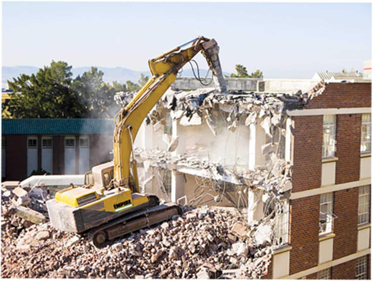 Photo of خدمات تخریب ساختمان