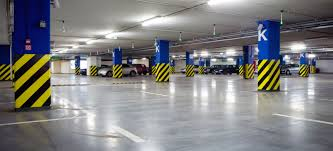 نور پردازی سقف پارکینگ