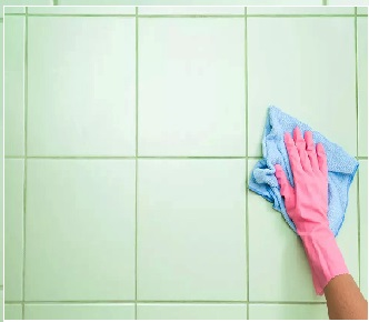 تمیز کردن موزاییک از دست سیمان