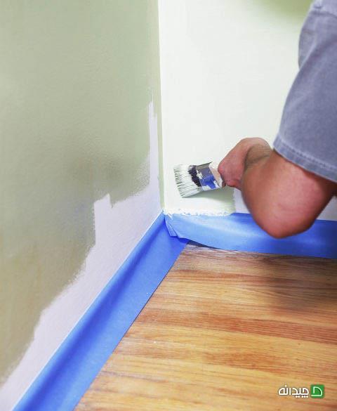 سفید کردن دیوار
