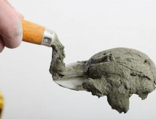 پاک کردن ملات از روی کف